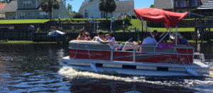 pontoon boat rental watersports myrtle beach