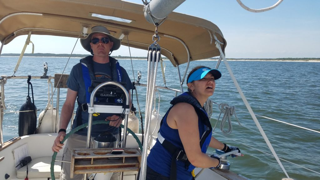 sailing lessons in south carolina
